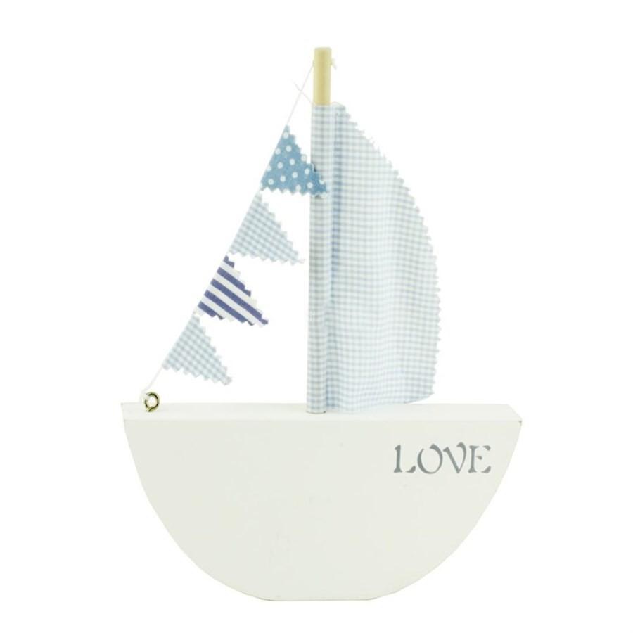 Barco Love Azul