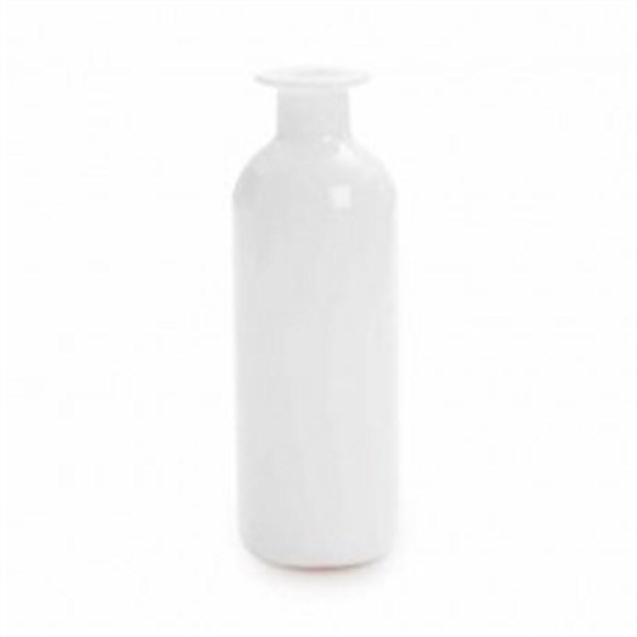 Vaso Liso Branco 16x5,6cm