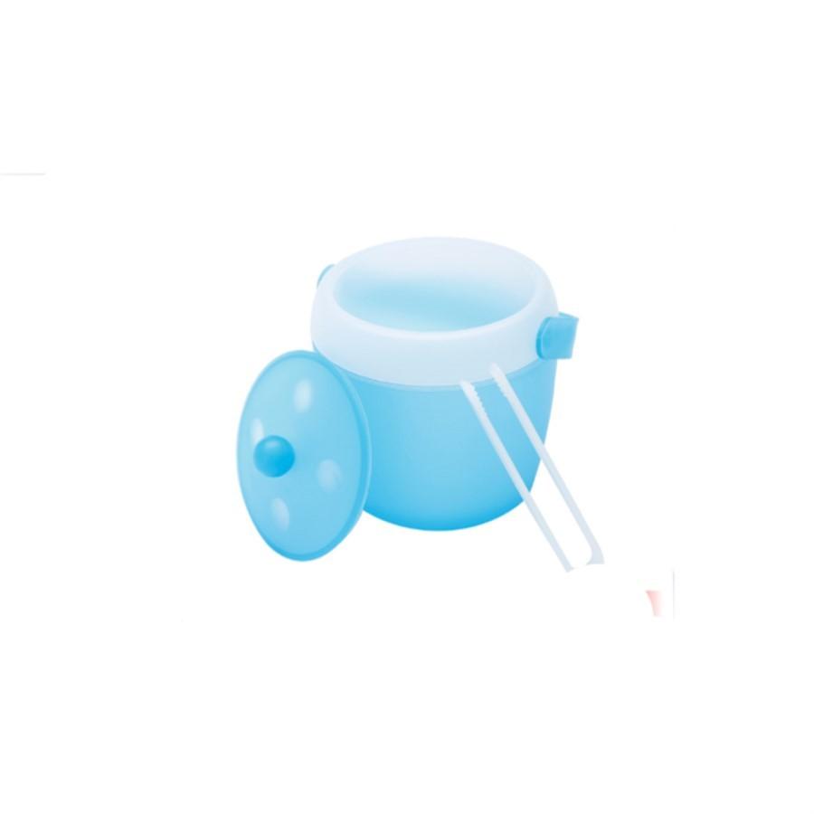 Balde P/Gelo de Plástico 1800ml Azul