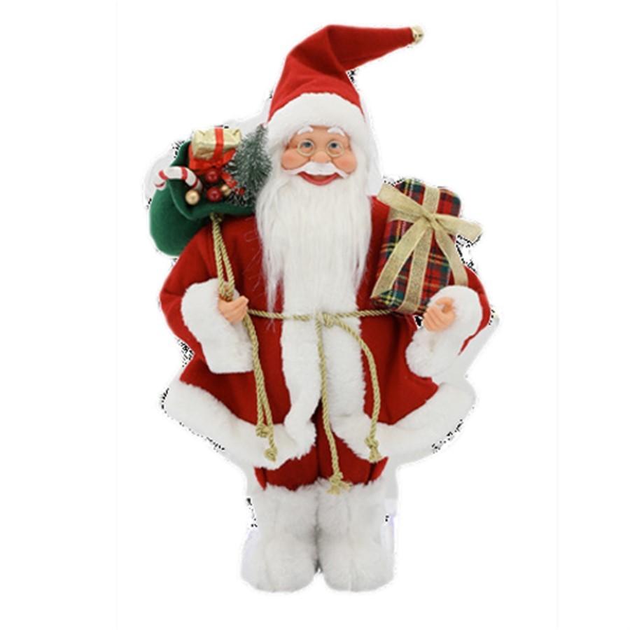 Papai Noel Saco de Presentes 41cm
