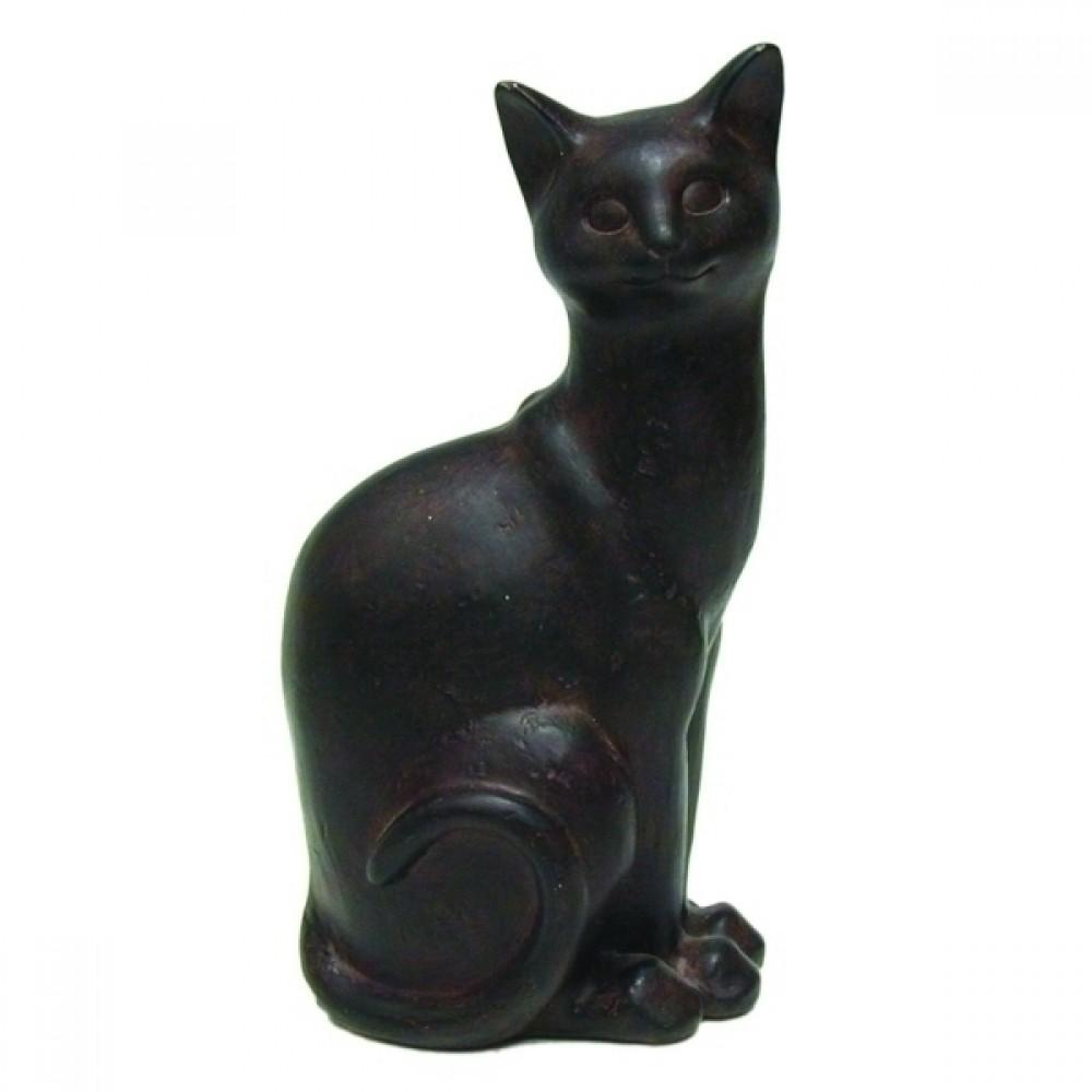 Gato Decorativo de Resina
