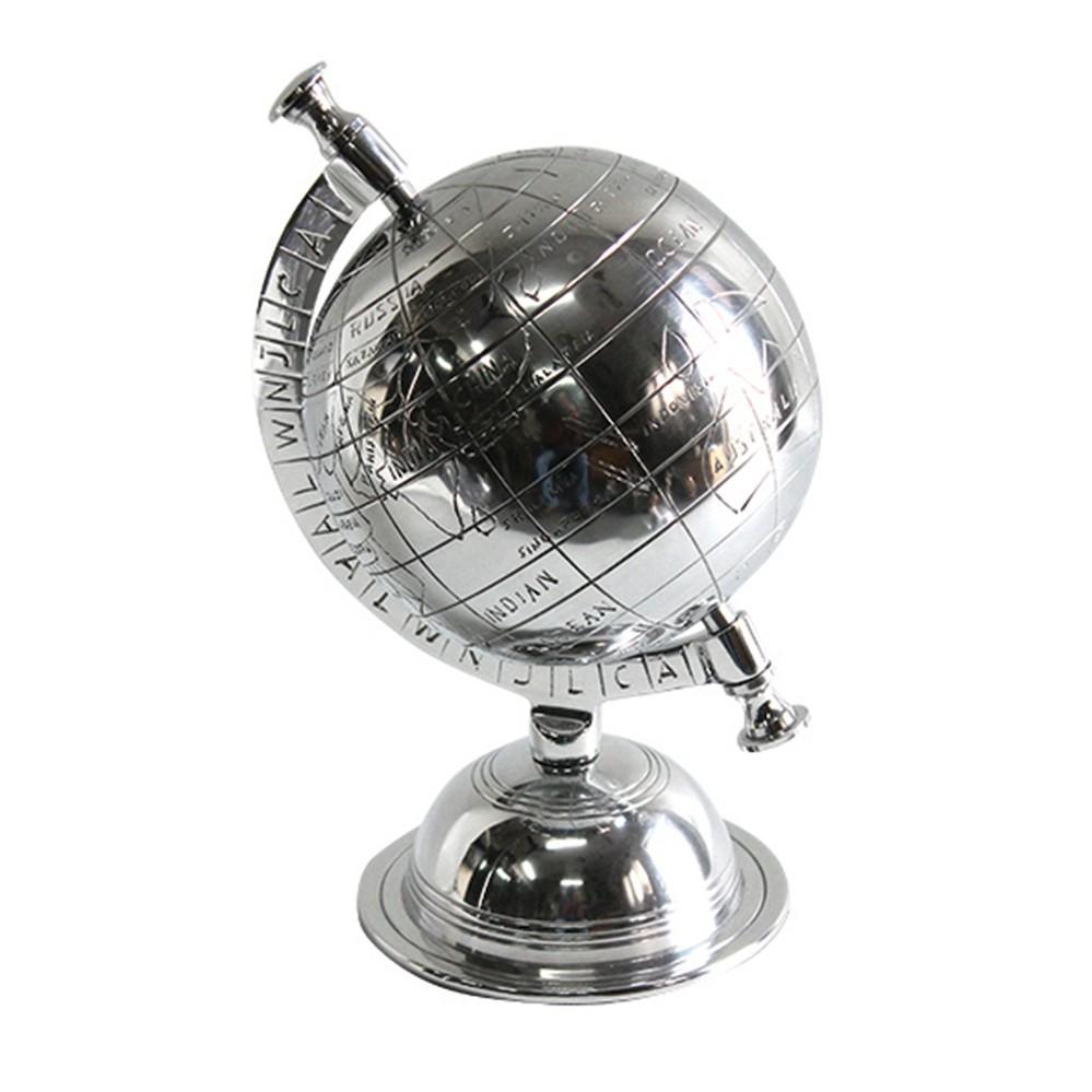 Globo Decorativo Prata 26cm