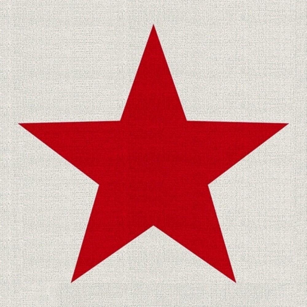 Guardanapos de Papel Estrela Vermelha 20pçs