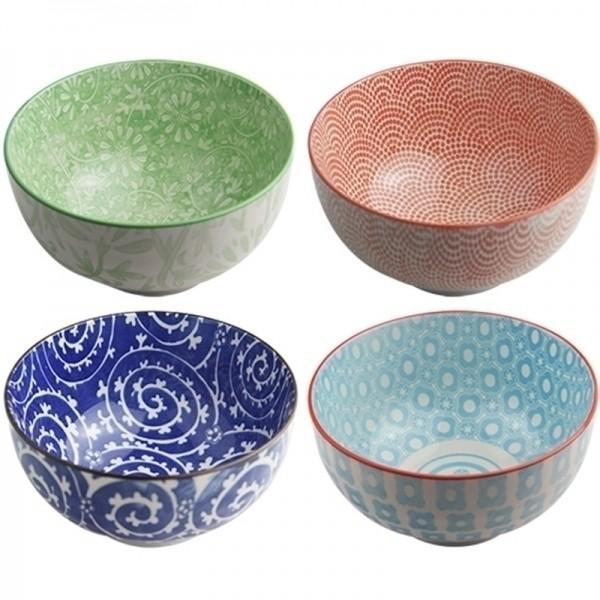 Conjunto de 4 Bowls Coloridas - Grande