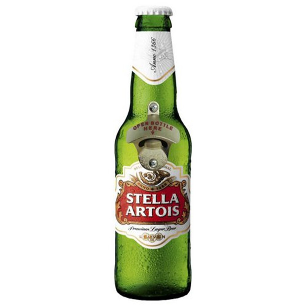 Placa de Parede Abridor de Garrafa Stella Artois