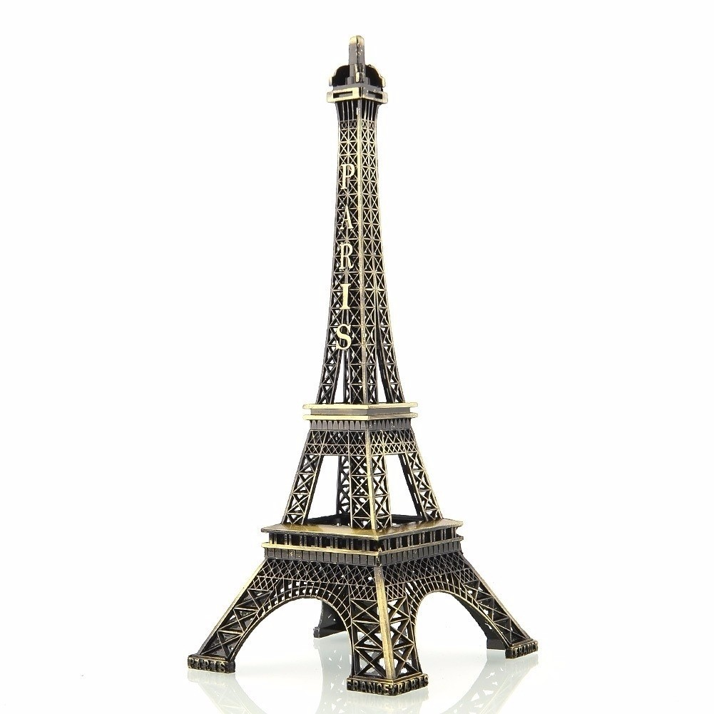 Torre Eiffel Ouro Velho Média