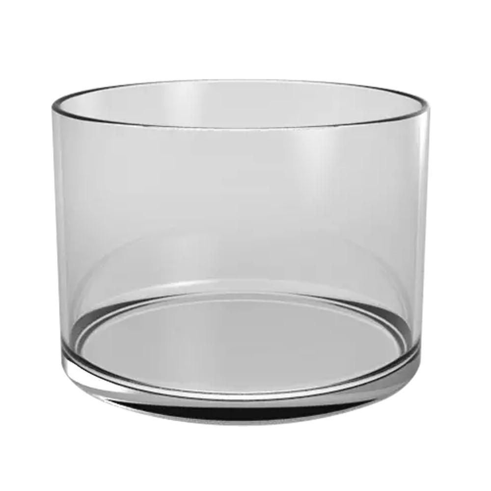 Vaso de vidro Cilindro 20x11cm